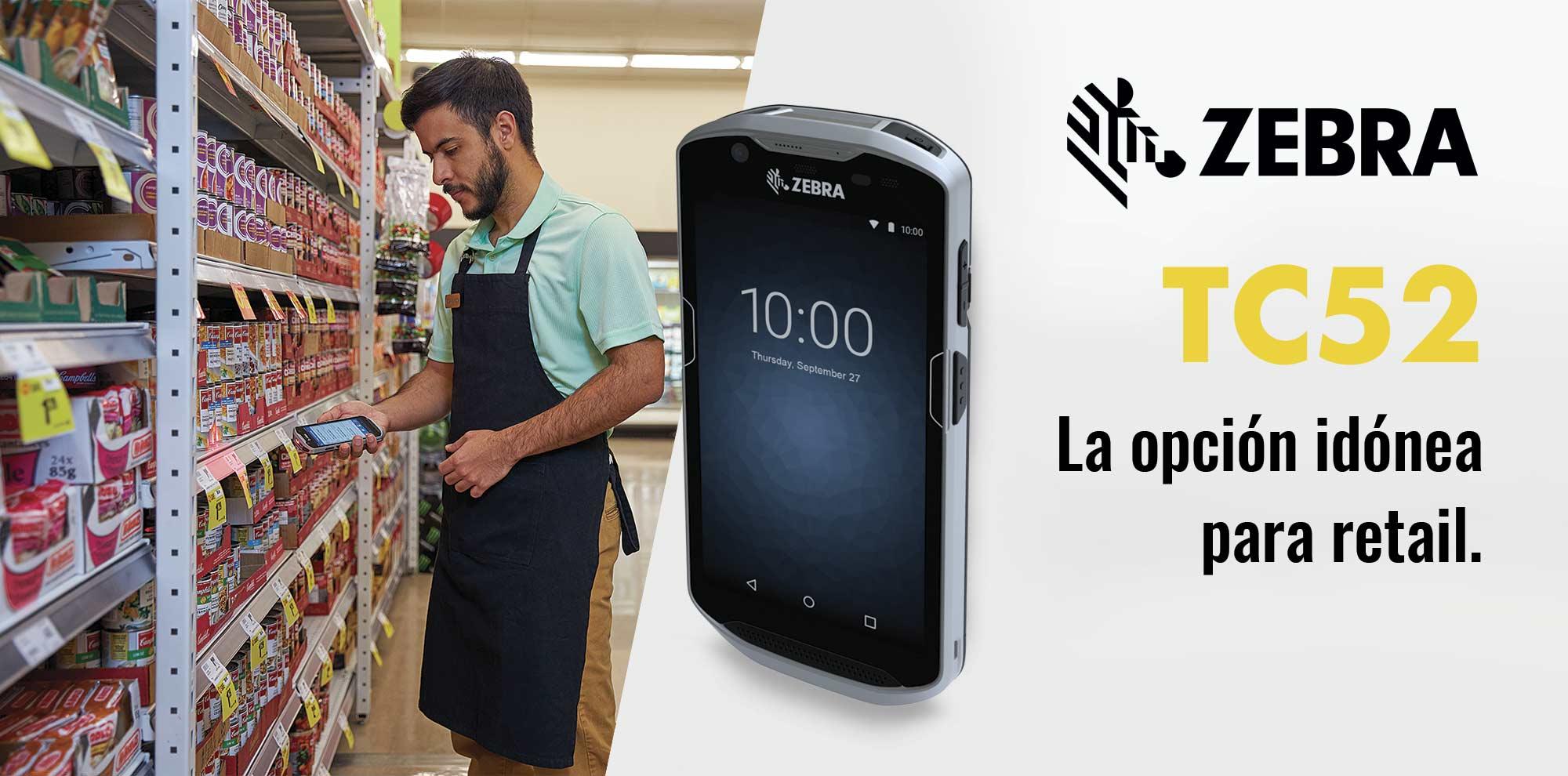 PDA Zebra TC52 para retail