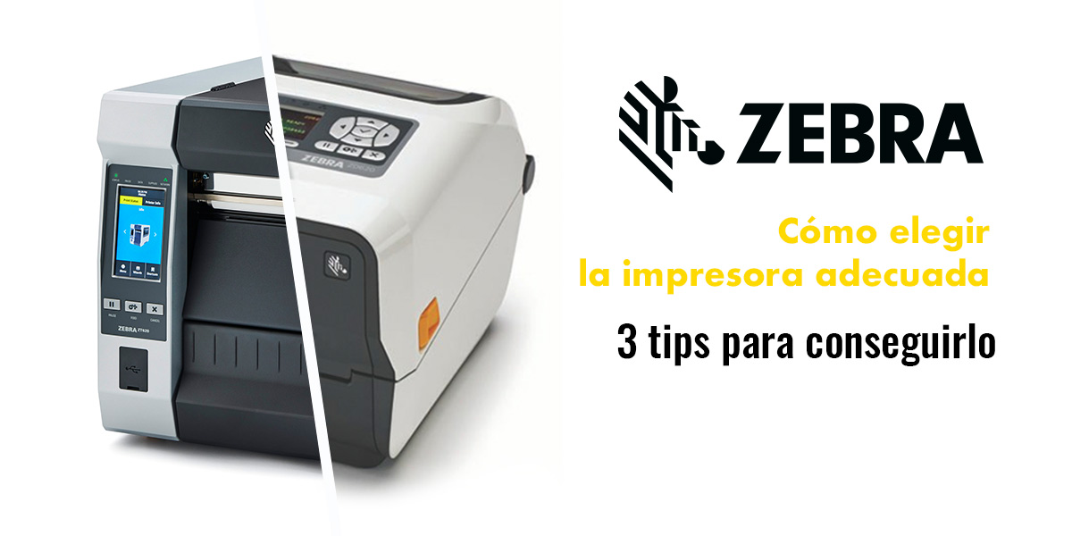 Impresoras de etiquetas Zebra