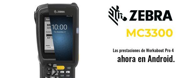 zebra MC2200 terminal rugerizado android