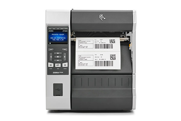 Impresora de etiquetas industrial ZT620