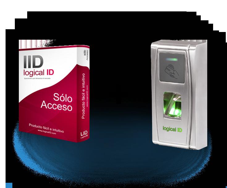 Pack acceso huella y proximidad LID 02