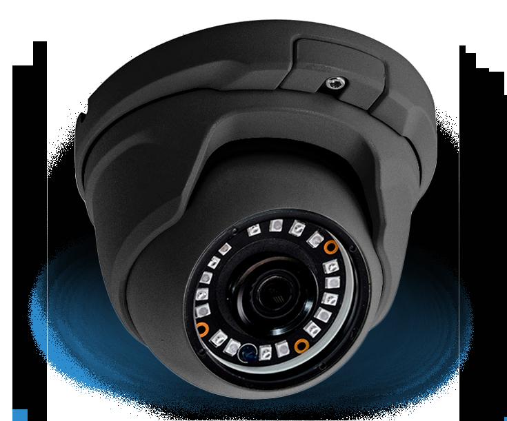 cámara domo infrarrojos