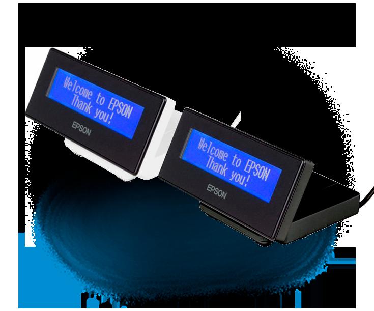 visor alfanumérico para impresora