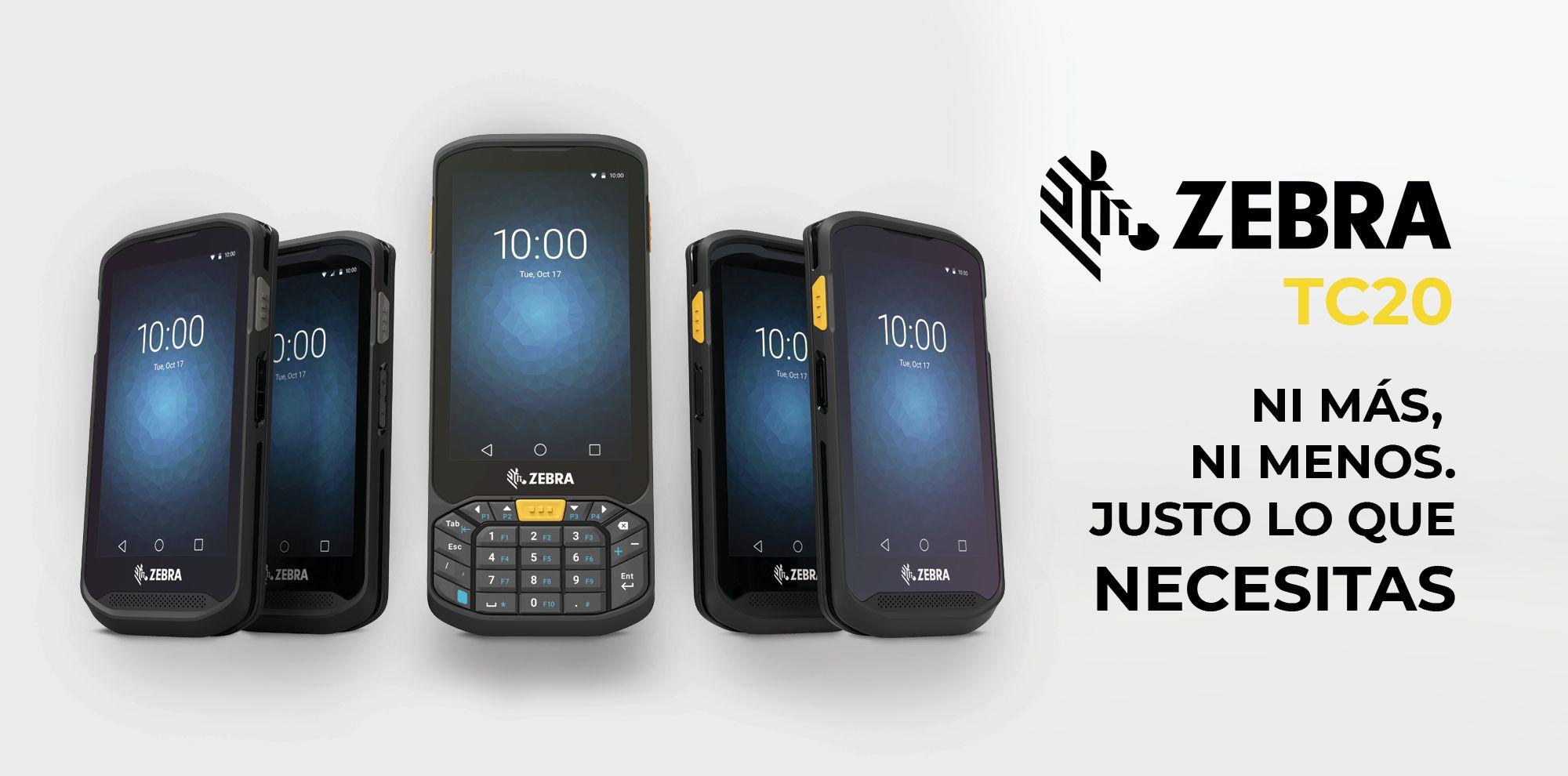 terminales móviles Zebra TC20 para retail