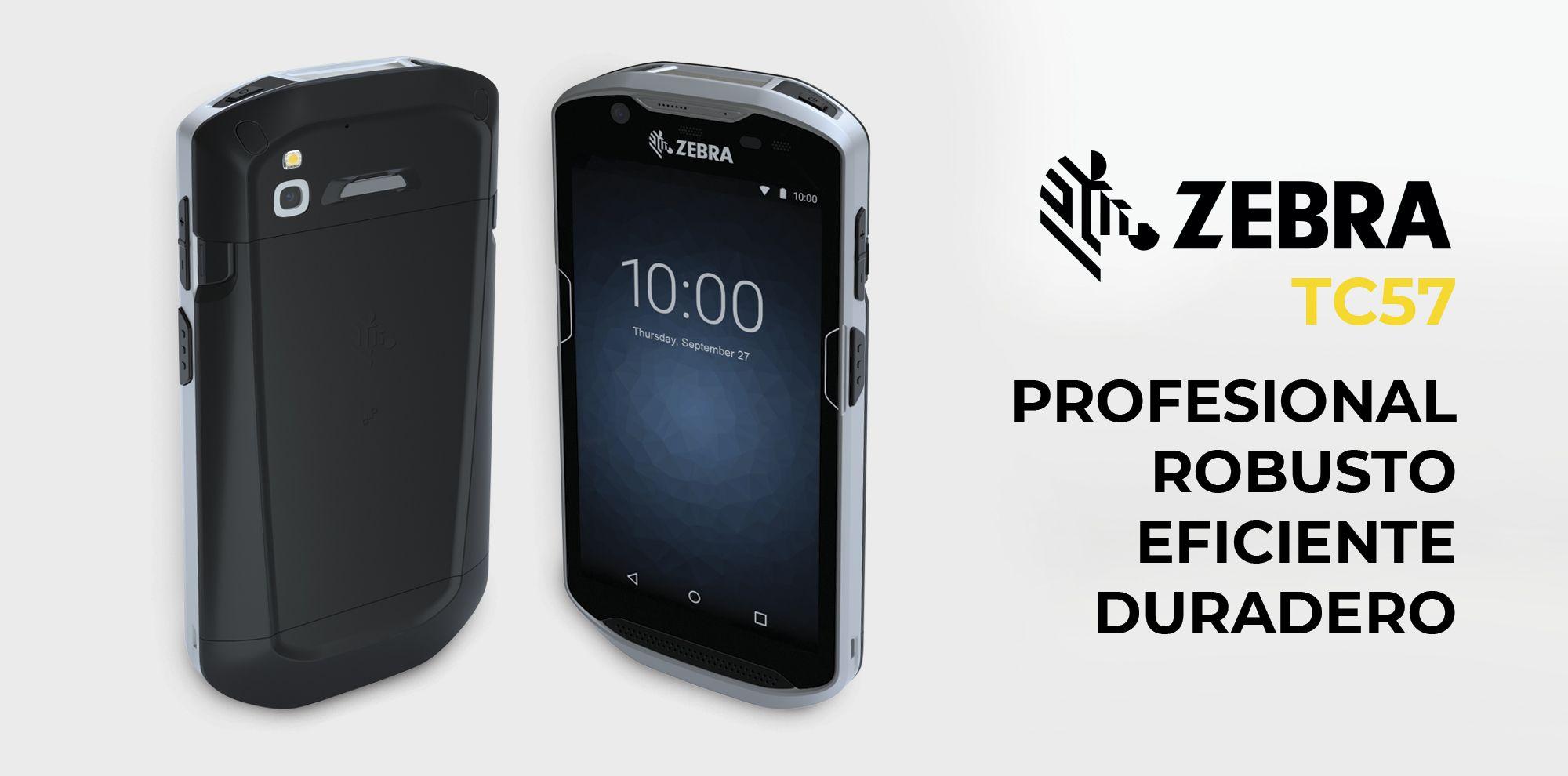 Zebra TC57 - PDA profesional y robusta para paquetería y almacenes