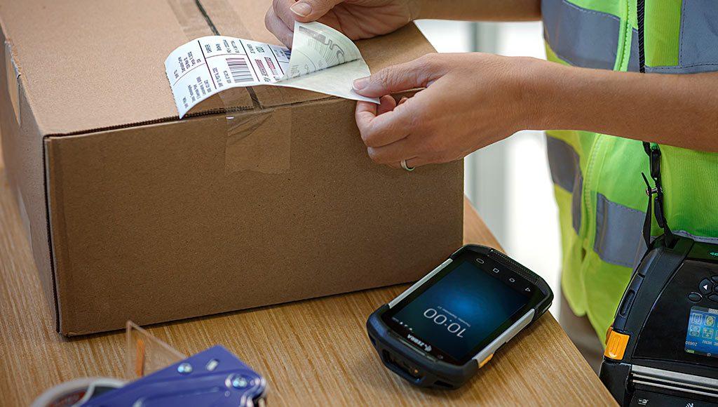 PDA Zebra TC57 para servicios de envío de paquetería